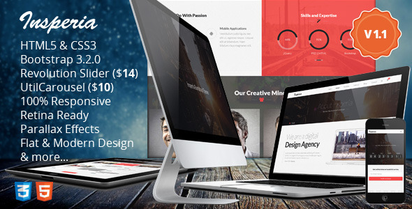 Insperia Multi-purpose HTML5 Theme