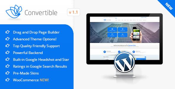 Convertible | Business WordPress Theme