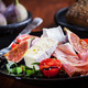 Salad with fresh figs and prosciutto - PhotoDune Item for Sale