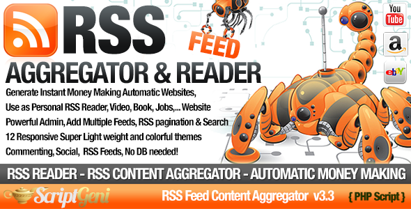 Download RSS Aggregator - Niche RSS Site Builder nulled download