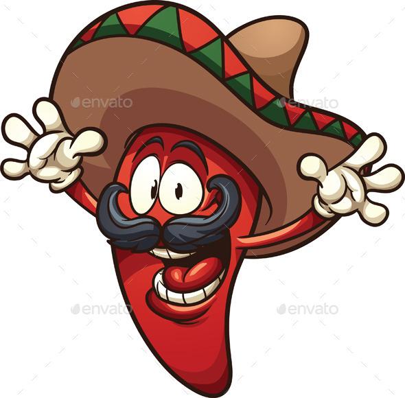 GraphicRiver Mexican Chili Pepper 8879035