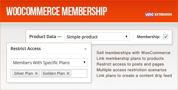 woocommerce membership plugin