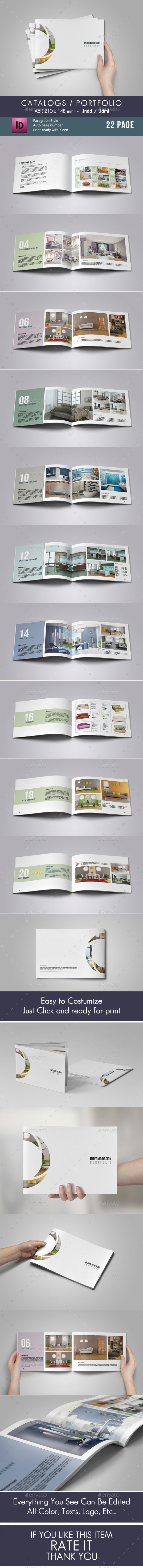 GraphicRiver Catalogs Portfolio 8878358