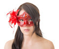 woman in a carnival mask - PhotoDune Item for Sale