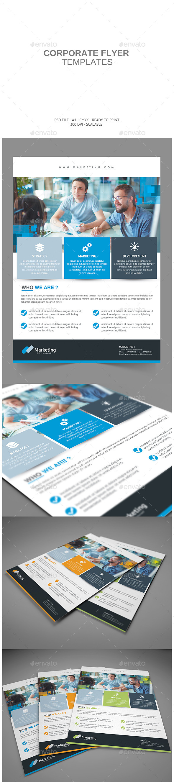 GraphicRiver Corporate Flyer 8854528