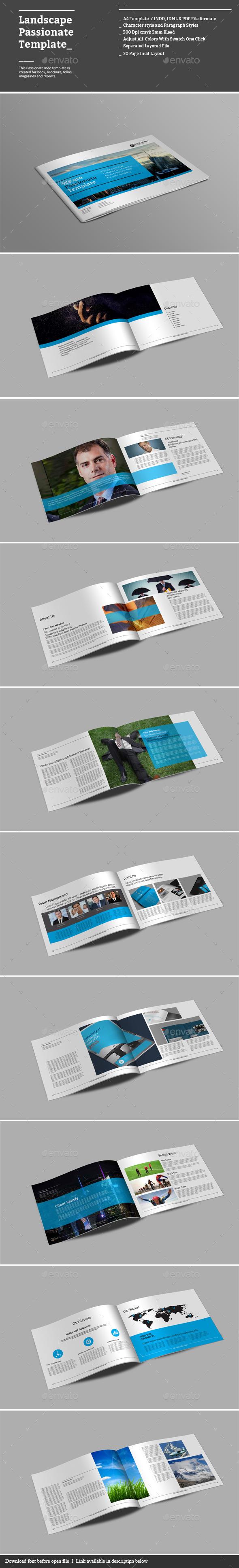 GraphicRiver Landscape Passionate Templates 8879760