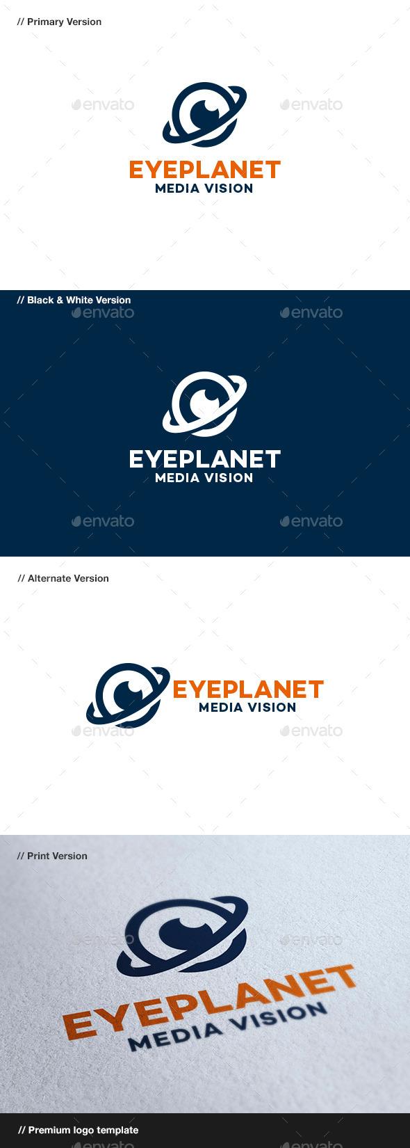 GraphicRiver Eye Planet 8879852