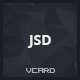 JSD - Responsive Resume vCard HTML Template - ThemeForest Item for Sale