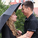 Girl Waiting her Boyfriend on a Rainy Day - VideoHive Item for Sale