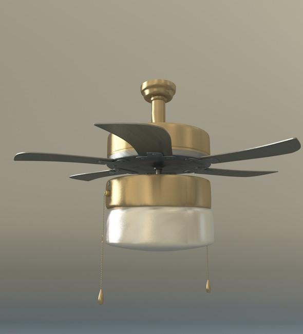 3DOcean Ceiling Fan 8880338