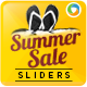 Summer Sale Sliders - GraphicRiver Item for Sale