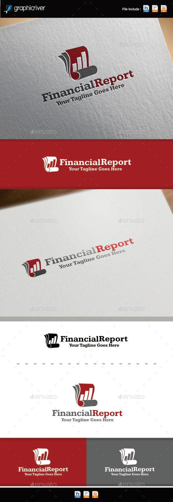 GraphicRiver Financial Reports Logo 8880469