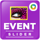 Event Sliders - GraphicRiver Item for Sale