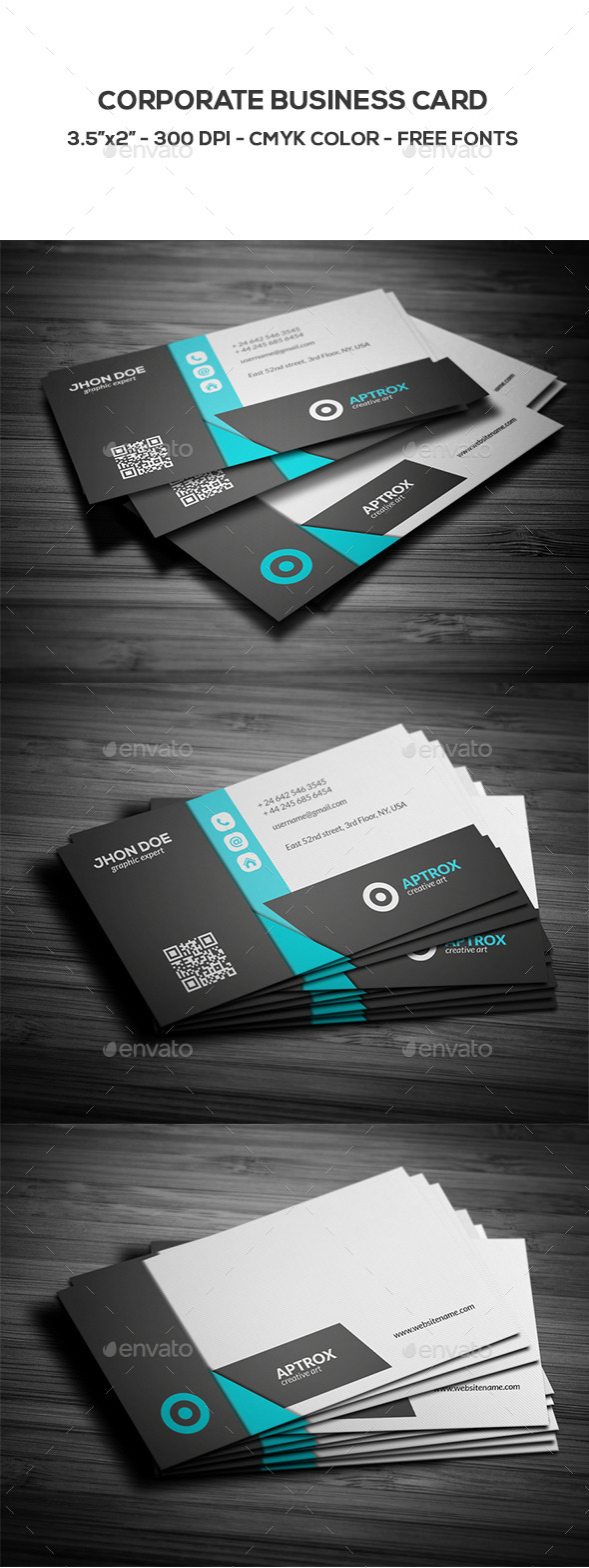 GraphicRiver Corporate Business Card 8880561