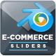 E-Commerce Sliders - GraphicRiver Item for Sale