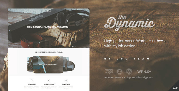 The Dynamic High-Performance Wordpress Theme
