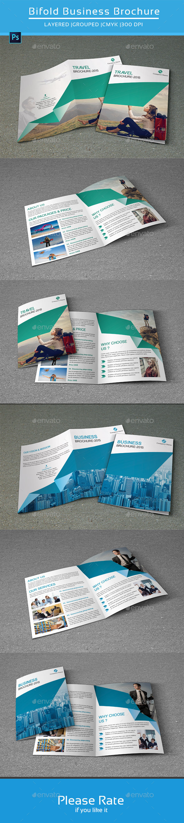 GraphicRiver Bifold Business Brochure-V135 8881239