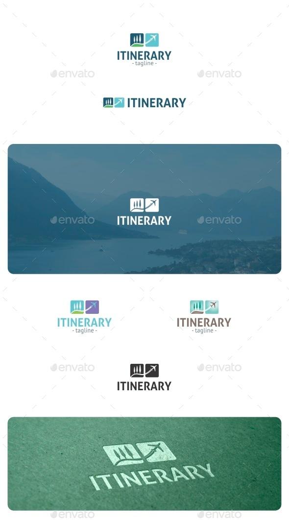 GraphicRiver Itinerary Logo 8881240