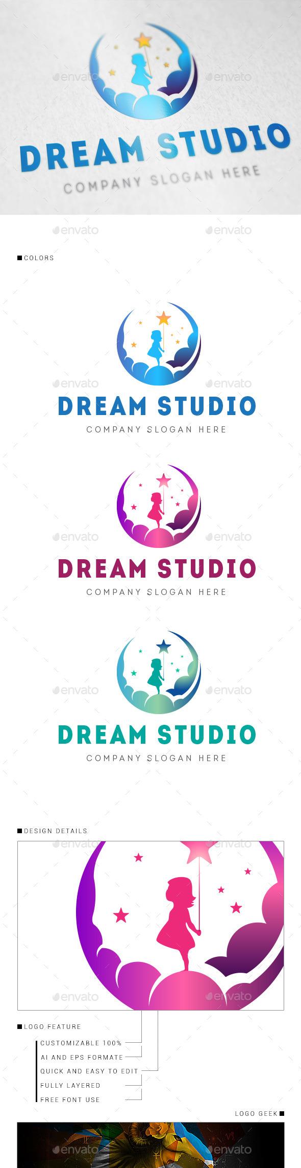 GraphicRiver Dream Studio Logo 8862151