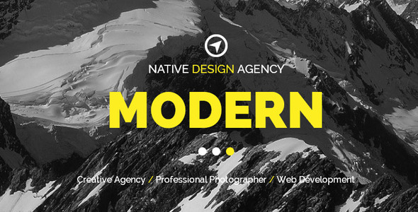 ThemeForest Native Creative Muse Template 8881795