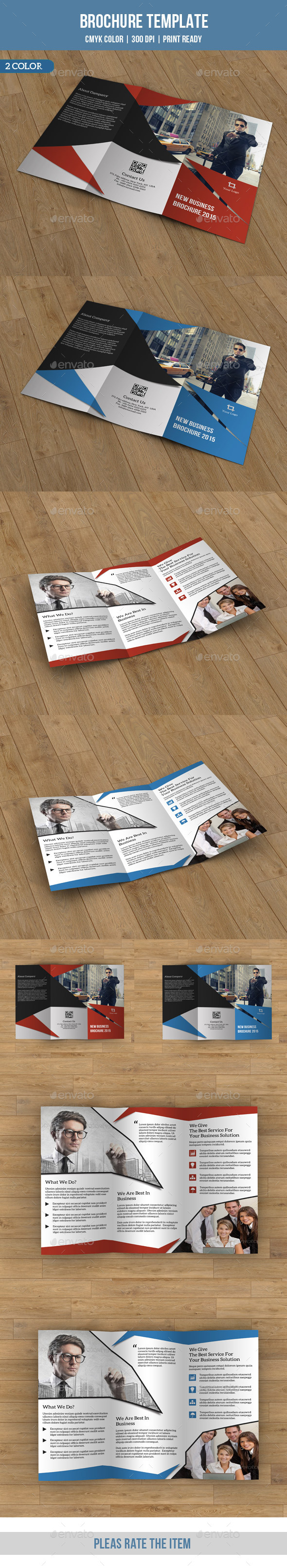 GraphicRiver Trifold Business Brochure-V67 8881809