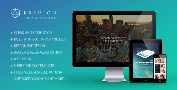 ThemeForest Krypton Responsive Joomla Template 8881916