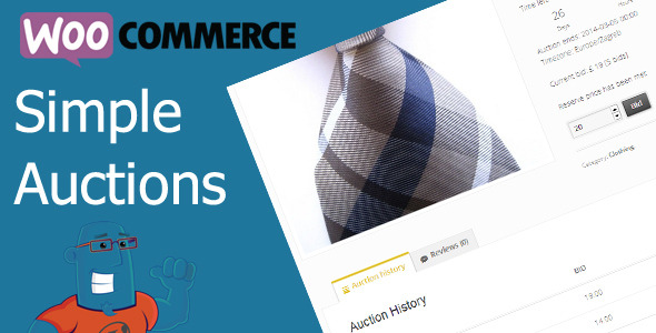 WooCommerce Simple Auctions - CodeCanyon Item for Sale