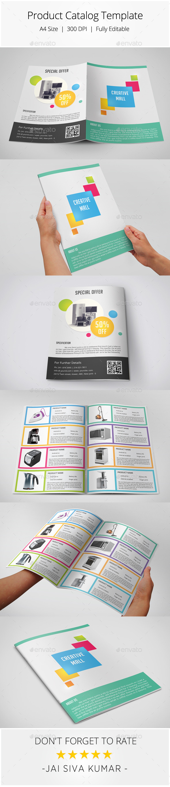 GraphicRiver Product Catalog Template 8882071