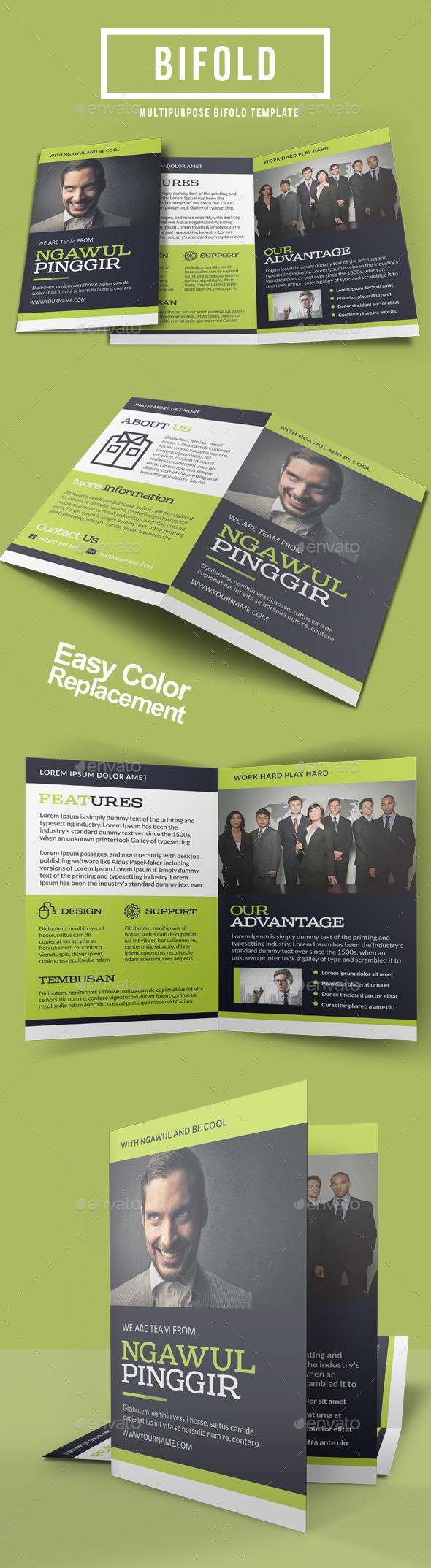 GraphicRiver Corporate Bi-Fold Template 8882248