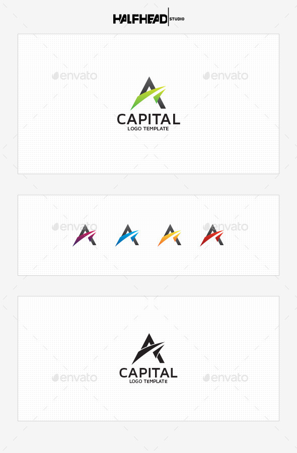 GraphicRiver Capital Logo Template 8882257