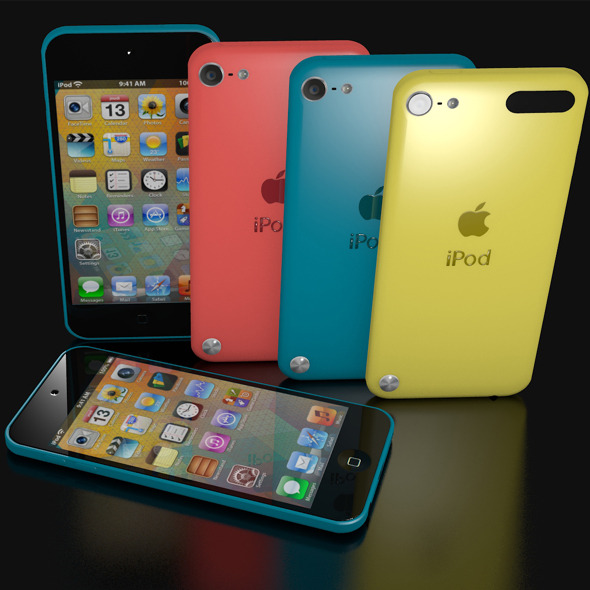 3DOcean IPOD TOUCH 5 8882313