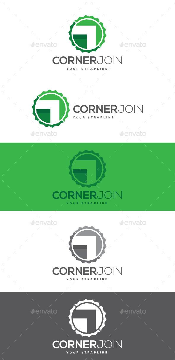 GraphicRiver Corner Join Logo 8882316