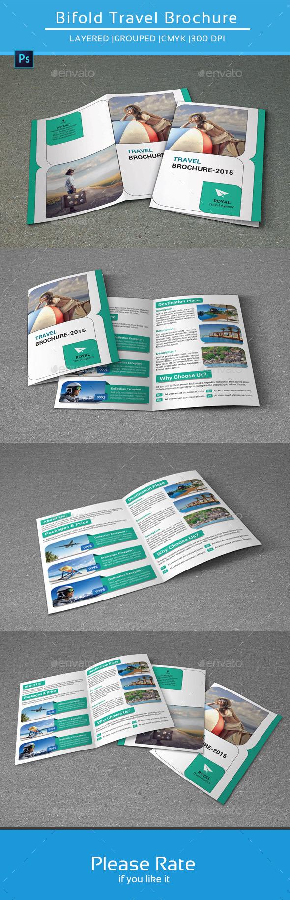 GraphicRiver Bifold Brochure for Travel-V136 8882322
