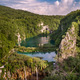 Aerial View on Waterfalls in Plitvice National Park, Donja Jezer - PhotoDune Item for Sale