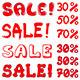 Set of Inscription Sale - GraphicRiver Item for Sale
