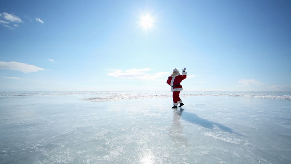 Travel Santa on Lake Baikal 2