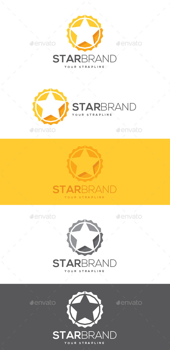 GraphicRiver Star Brand Logo 8882612