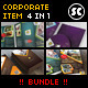 Proveto : Corporate Business Starter Pack Bundle - GraphicRiver Item for Sale
