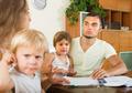 Parents with children having quarrel - PhotoDune Item for Sale