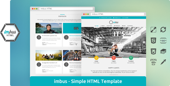 imbus - Simple HTML Template - imbus - Simple HTML Template.