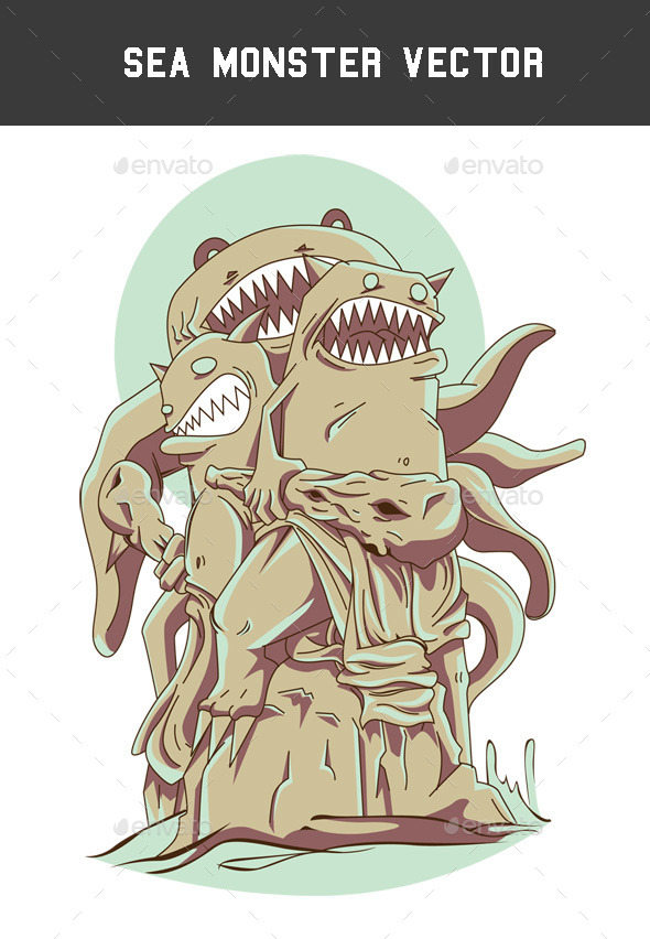 GraphicRiver Sea Monster 8883116