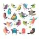 Cartoon Birds - GraphicRiver Item for Sale
