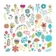 Hand Drawn Floral Elements - GraphicRiver Item for Sale