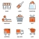 Set of Shopping and Retail Icons - GraphicRiver Item for Sale