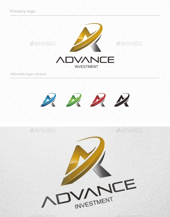GraphicRiver Advance Investment Logo Template Vol 02 8883344