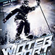 Winter Sports Flyer Poster Template - GraphicRiver Item for Sale