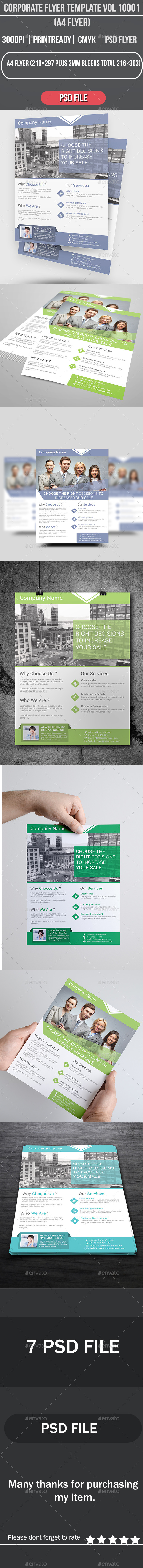 GraphicRiver Corporate Flyer Template Vol 10001 8885151