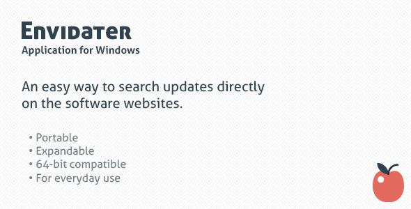 Envidater — tiny update checker