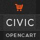 Civic - Premium Responsive OpenCart Theme