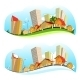 Urban Landscape Illustration - GraphicRiver Item for Sale